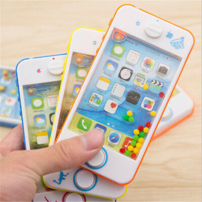 Apple Phone Water Machine Baby Kids Learning Cell Phone Educational Toys DS