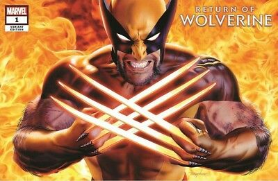 Return Of Wolverine #1 Mike Mayhew Top Secret Variant Pre-Order Nm
