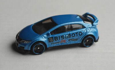 Hot Wheels 2016 Honda Civic Type R blaumetallic HW Speed Graphics Auto Car ´16