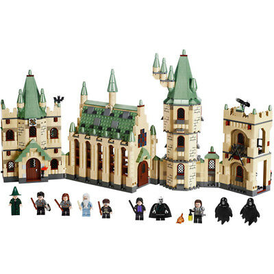 Harry Potter Hogwarts Castle Building Block 6030 1340Pcs Creative Costume Toys