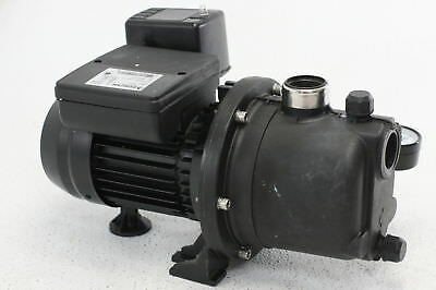 BURCAM 506221P Noryl Shallow Well Jet Pump Black 115 volts 850 GPH Plastic