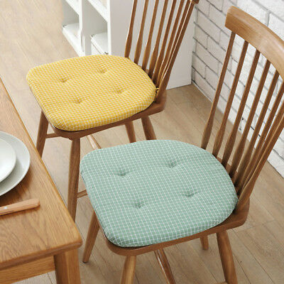Cushions Soft Cotton Seat Pad Chair Pads For Garden Dining Room Office Kitchen*^