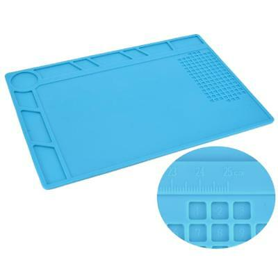 Heat Resistant Tool Pad Mat Multifunction Soldering Station Insulation Silicone