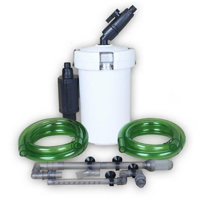 400L / H Aquarium External Canister Filter Fish Tank Pond Water Sponge Pump
