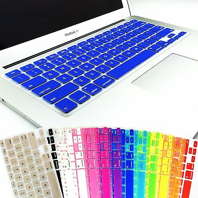 "Keyboard Soft Case Cover Protector for Apple MacBook Air Pro 13"" 15"" 17"" inch"