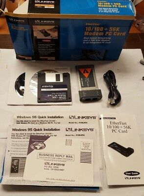 LINKSYS ETHERFAST 10100 PC CARD DRIVERS FOR WINDOWS 8