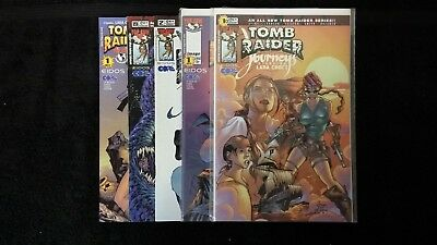 2002 Image Comics Lot Of 5 Various Lara Croft Tomb Raider Nm Flat Rate Shipping