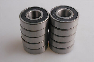 6203-2RS 17x40x12mm Rubber Sealed Ball Bearing Lubricated 6203RS Bearings