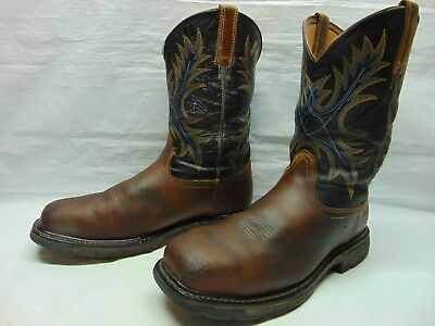 9a2e07a7107 MEN'S 12 EE Ariat Workhog Wide Square Steel Toe H2O Waterproof Pro  Construction