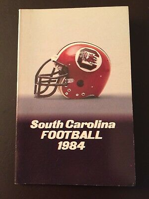 SOUTH CAROLINA GAMECOCKS 1984 Football Season Big 1985 Book Joe
