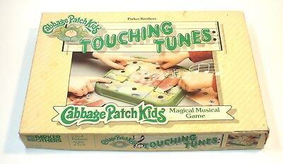 Vintage Cabbage Patch Kids Touching Tunes Magical Musical Game 1984 Boardgame