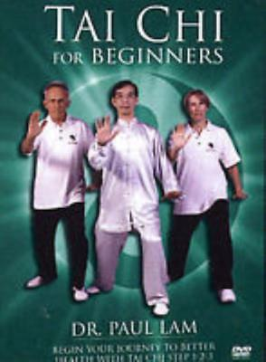 Tai Chi for Beginners DVD VIDEO MOVIE Dr. Paul Lam learning steps health fitness