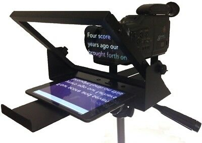 Teleprompter XR1000 - with Beam Splitter Glass - use tablet / smartphone