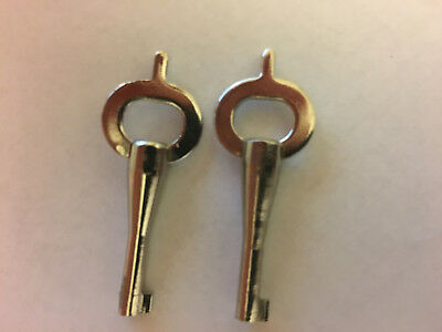 2 NOS American Handcuff Co., American Munitions Original Handcuff & shackle Keys