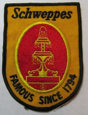 Schweppes famous since 1794  Patch