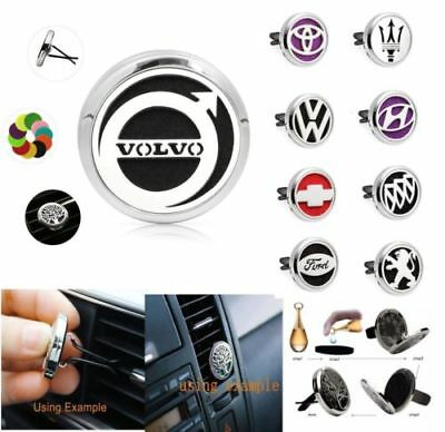 Car Vent Clip Air Freshener Essential Oil Aromatherapy Diffuser Locket