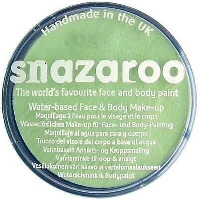 Snazaroo 75ml Pot Body And Face Paint (sparkle Pale Green) - 75ml Sparkle Green