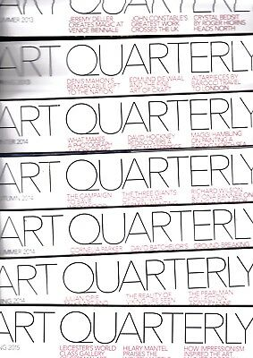 Various Issues of ART QUARTERLY Magazine (ART FUND) 1997-2015