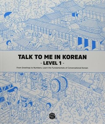 Talk To Me In Korean Grammar Textbook Level 1(Downloadable Audio Files Included)