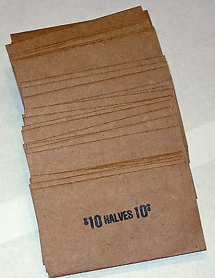100 Half Dollar Coin Old Style Flat Wrappers