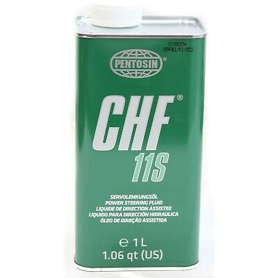 Pentosin Chf 11S Power Steering Oil Hydraulic Fluid CHF11S 1 Litre