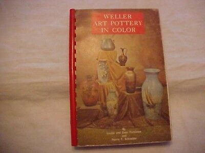1989 Bk WELLER ART POTTERY IN COLOR by Purviance and Schneider; PRICE & ID GUIDE