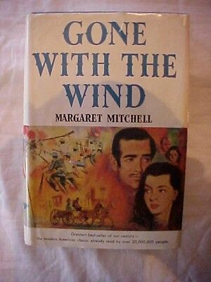 1964 Book GONE WITH THE WIND by Margaret Mitchell, CIVIL WAR COVER, #79415