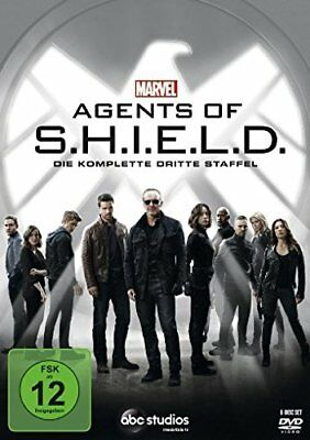 Marvel's Agents Of S.h.i.e.l.d. Marvels Shield Komplette Staffel 3 Dvd Deutsch