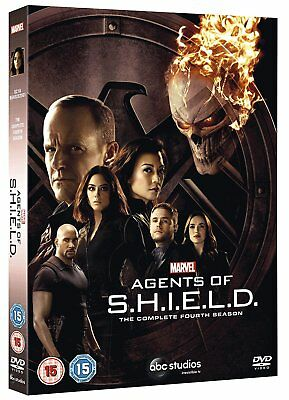 Marvel's Agents Of S.h.i.e.l.d. Marvels Shield Komplette Staffel 4 Dvd Deutsch