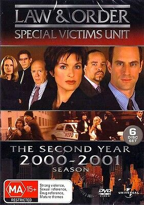 Law And Order SVU Special Victims Unit : Season 2 : NEW DVD