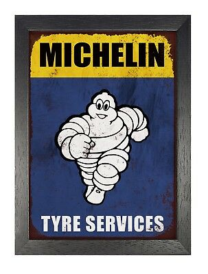 MMS10 Michelin Tyre Service Metal Sign New 30 cm H X 20 cm W Man Cave