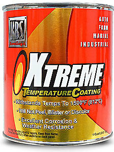 KBS Coatings 65402 Xtreme Temp Coating (XTC)