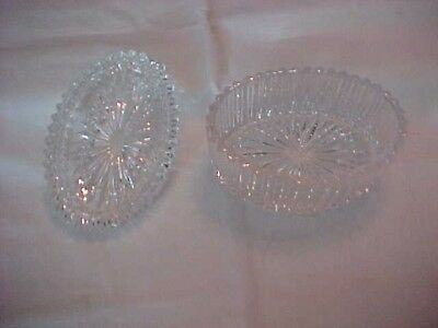 Vintage Decorative Glass Dish With Lid; Candy Or Nut Dish; Unmarked