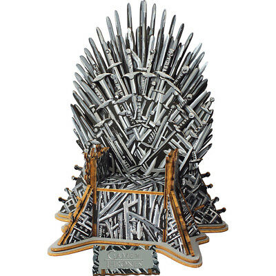 NEW! Game Of Thrones Iron Throne 3D Monument Puzzle 17207