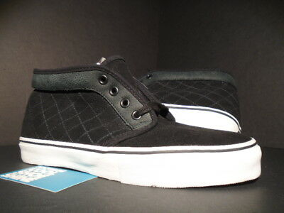 f06a33248f 2007 Vans Chukka S Black White Syndicate Quilted Wtaps Blends 5853576-100  New 10