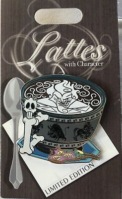 Disney Trading Pin Latte Lattes Character Series Hercules Hades October 2018