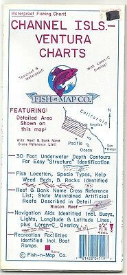 Fish-n-Map Co. CHANNEL ISLANDS VENTURA CHARTS California