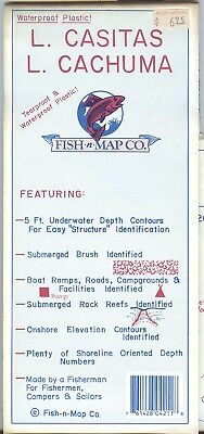 Fish-n-Map Co. LAKE CASITAS CACHUMA California