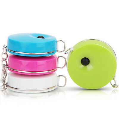 Pocket Retractable Tape Measure 1.5m Mini Utility Ruler Sewing Dieting Tailor X1