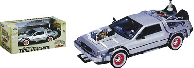Toy Replicas--Back to the Future Part III - 1:24 Scale Die-Cast DeLorean Replica