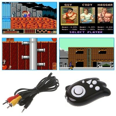 Video Gaming Console 8 Bit Built-In 89 Mini Classic Games TV Output Game Player