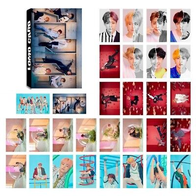 30pcs/set KPOP BTS LOVE YOURSELF 結 ANSWER Mini Poster Photocards LOMO Card Gift