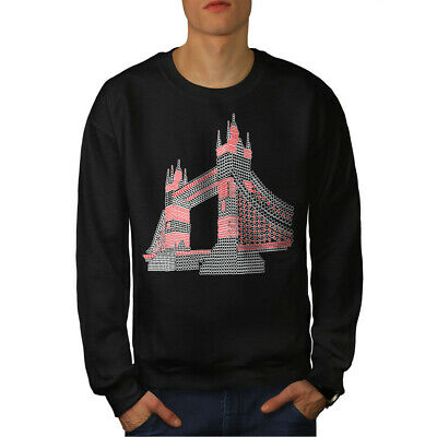 Famous Casual Jumper wellcoda Landmark Tower Cool Mens Sweatshirt