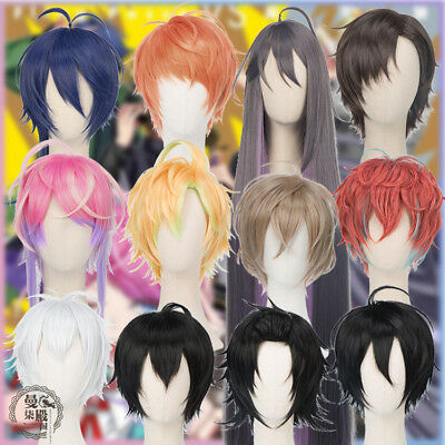 Hypnosis Mic - Division Rap Battle 12 Anime Voice Actors Cosplay Wig Hair 12Vers