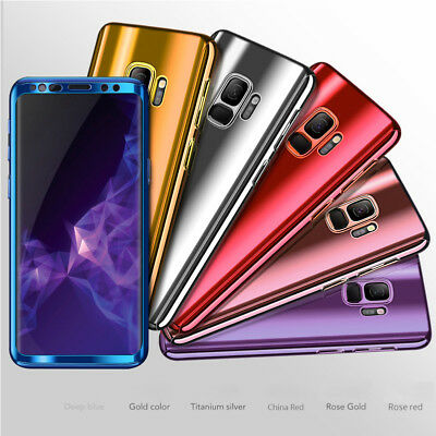 For Samsung Galaxy Note 8 / S8 / S9 Plus 360° Full Protection Hybrid Case Cover