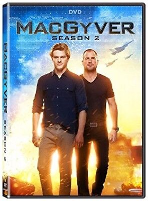 MacGyver Season 2 Series Two Second (Lucas Till George Eads) New DVD Box Set