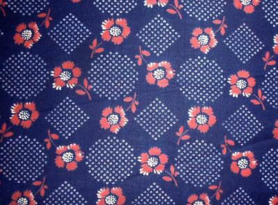 Summer Clearout, Unused Antique French Provencal Cotton Sample, Projects 279.