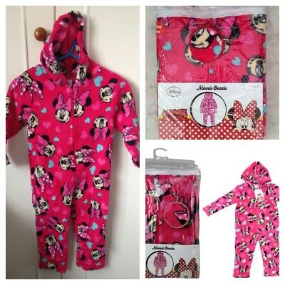 Minnie Mouse Childrens One-Piece/ Jump Suite/ PJ's Ages 4-5