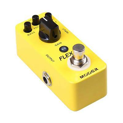 NEW MOOER AUDIO FLEX BOOST EFFECTS PEDAL w/ FREE CABLE 0$ US SHIPPING