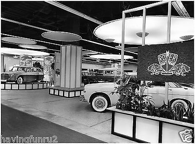 1960 British Rover Exhibit England Car Show  8 x 10  Photograph